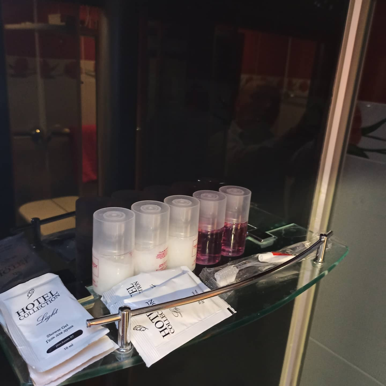 шампуни, гели для душа в апартаментах Абсолют Нижнекамск